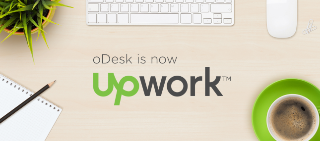 Now oDesk have new Name and Dress UPwork