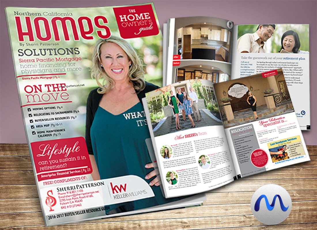 Magazine Design for Sherri