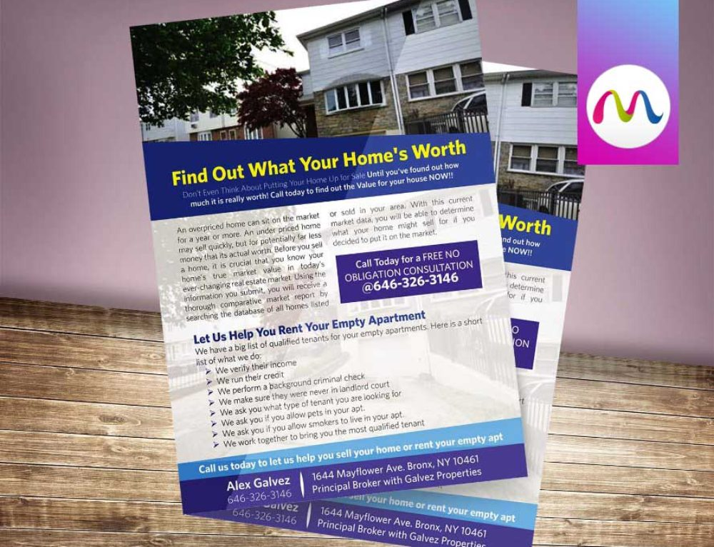 A-4 Size Flyer Designs