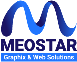 Meostar Graphix & Web Solutions Mobile Logo