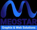Meostar Graphix & Web Solutions Logo