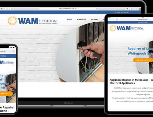 WAM Electrical Website
